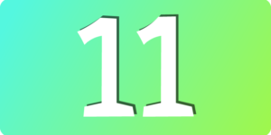 11の大事なコト