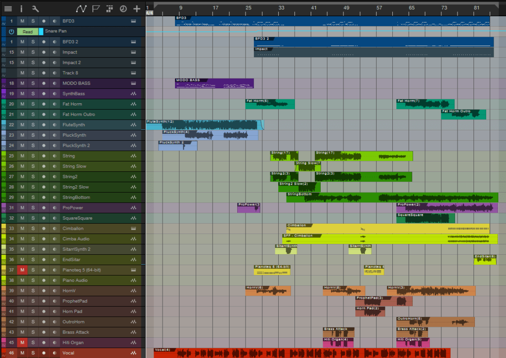 DAW overView
