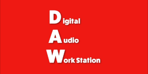 Daw audio workstation