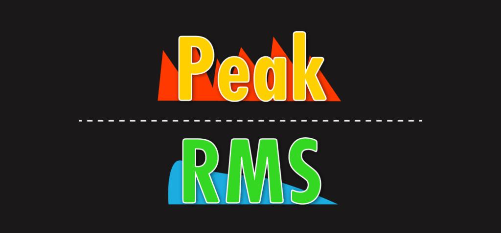 Peak & RMS cover