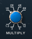 PrimalTap multiply time