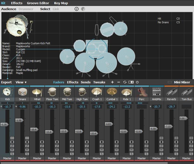 BFD3 Drum Kit