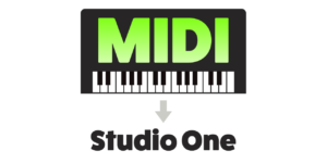MIDI keyboard Studio One